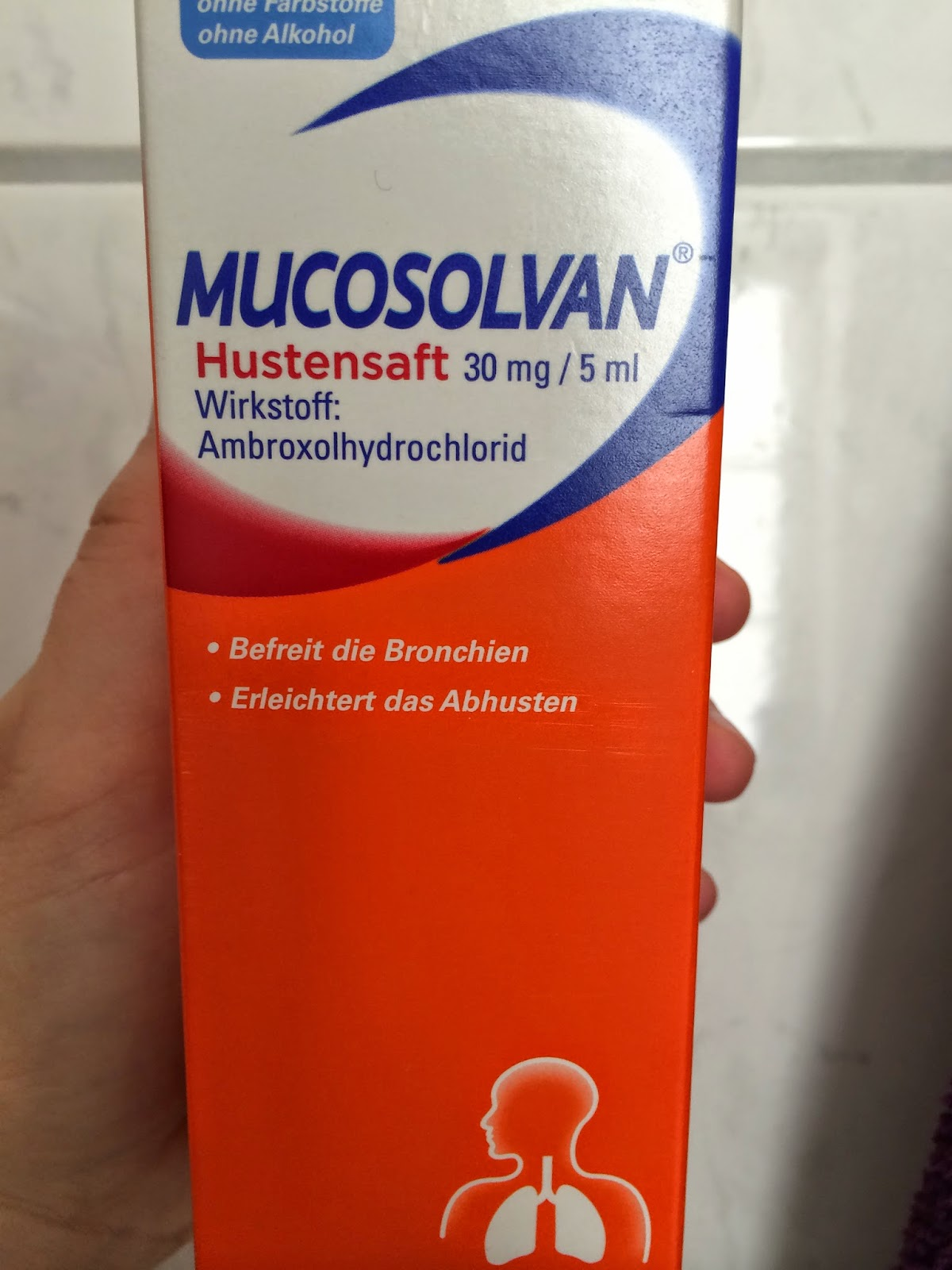 Nine and ninety nine: German Apothek: cold and flu