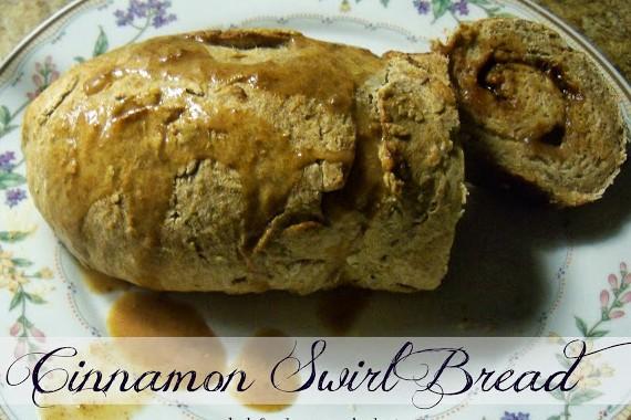 Cinnamon Swirl Bread (THM) E