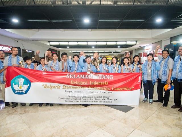 Hebat, Siswa SD Indonesia Sabet Juara Kompetisi Matematika Internasional