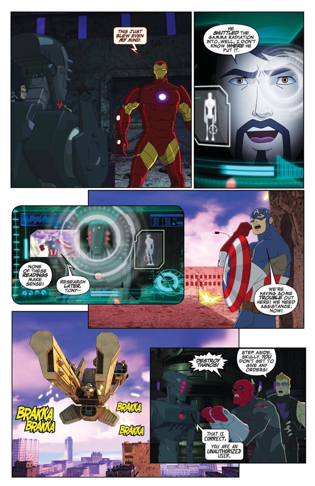 Read online Marvel Universe Avengers Assemble Season 2 comic -  Issue #1 - 17