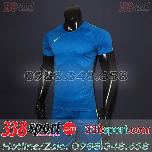 Áo Bóng Đá Không Logo Hot Nike TB SPH02 Xanh Đậm