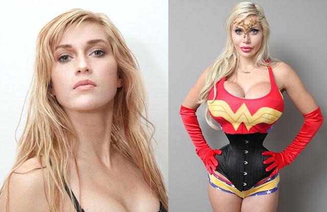 Wanita Ini Habiskan Belasan Miliar untuk Bisa Mirip Wonder Woman