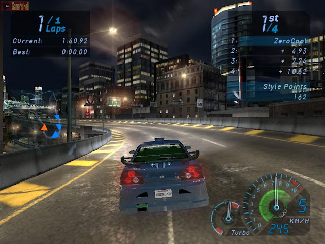 Need for Speed Underground 1 PC Full Version Screenshot 1