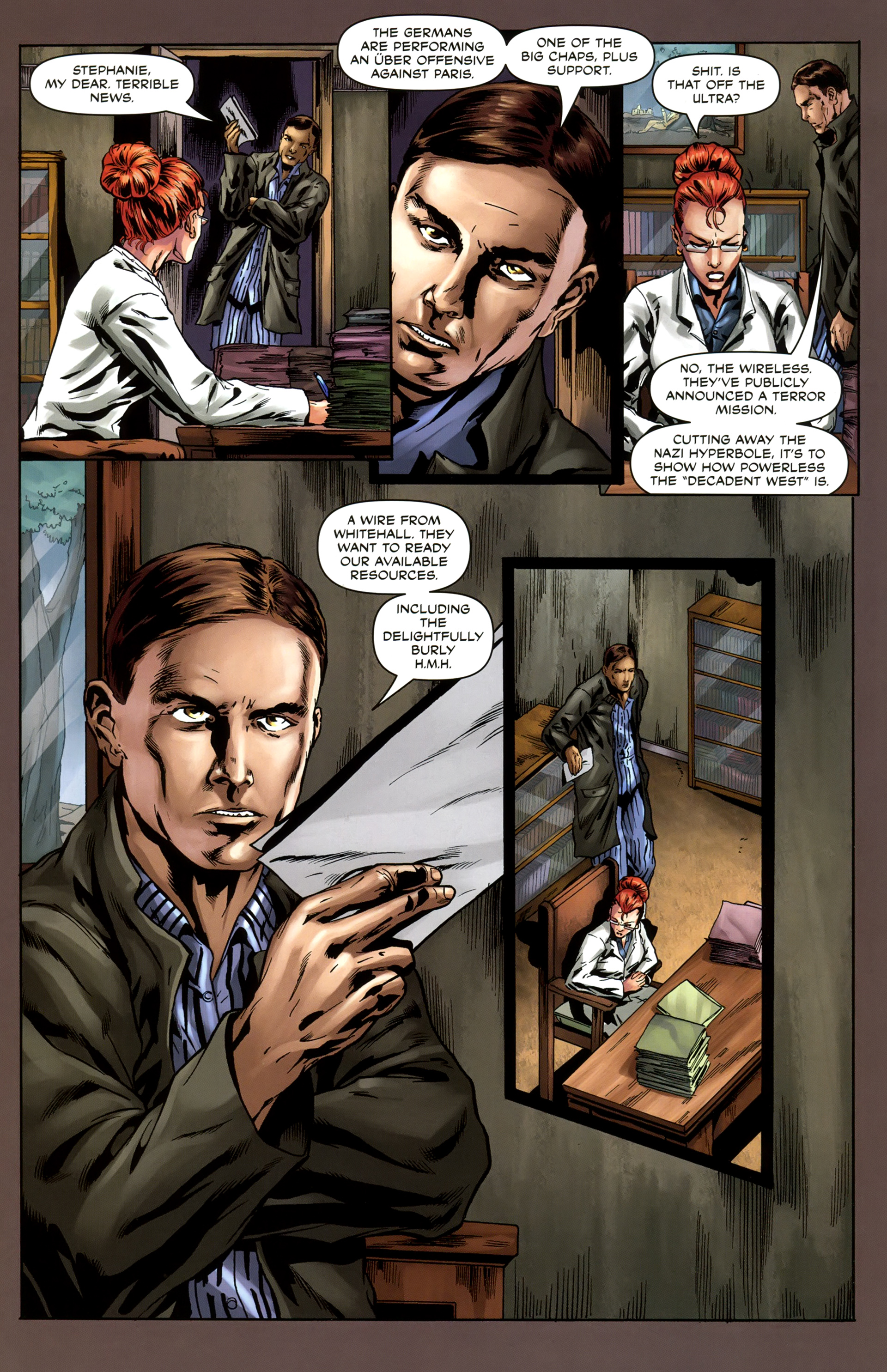 Read online Uber comic -  Issue #4 - 23