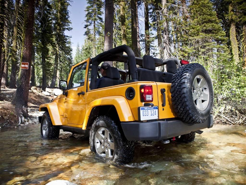 Road Jeep Wrangler Wallpaper