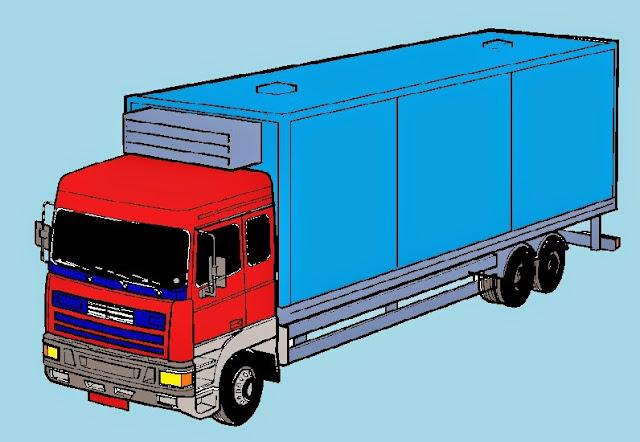 Caminhão ilustrativo