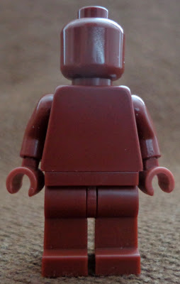 Reddish Brown Monochrome Minifigure