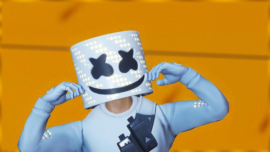 Marshmello Fortnite Battle Royale 4k Wallpaper 115