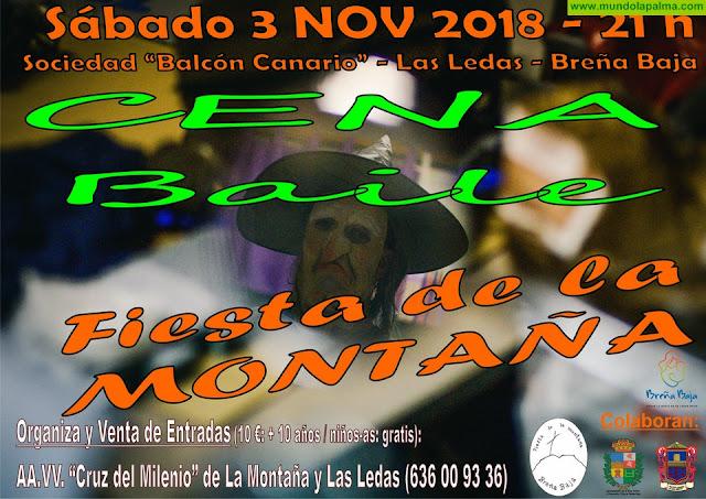 FIESTA DE LA MONTAÑA 2019: venta de entradas cena baile