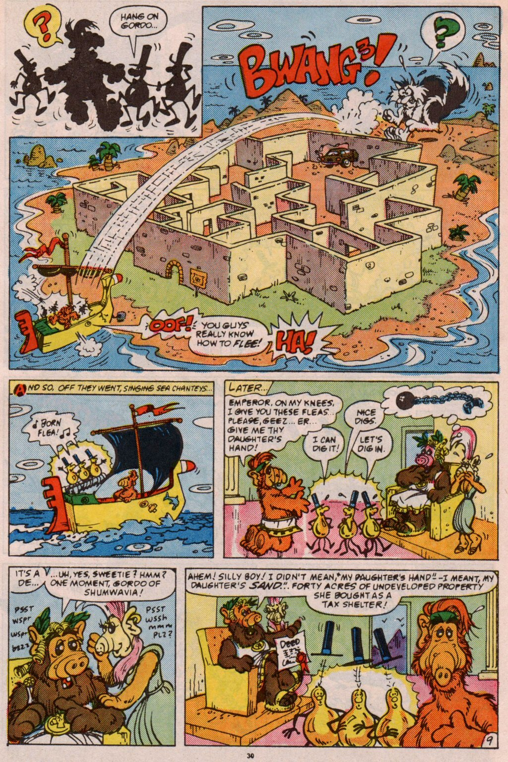Read online ALF comic -  Issue #5 - 25