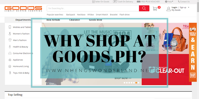 Why Shop at Goods.PH?