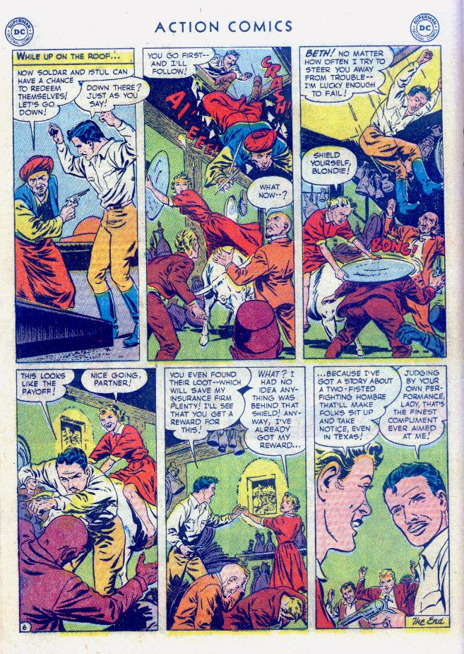 Read online Action Comics (1938) comic -  Issue #159 - 22