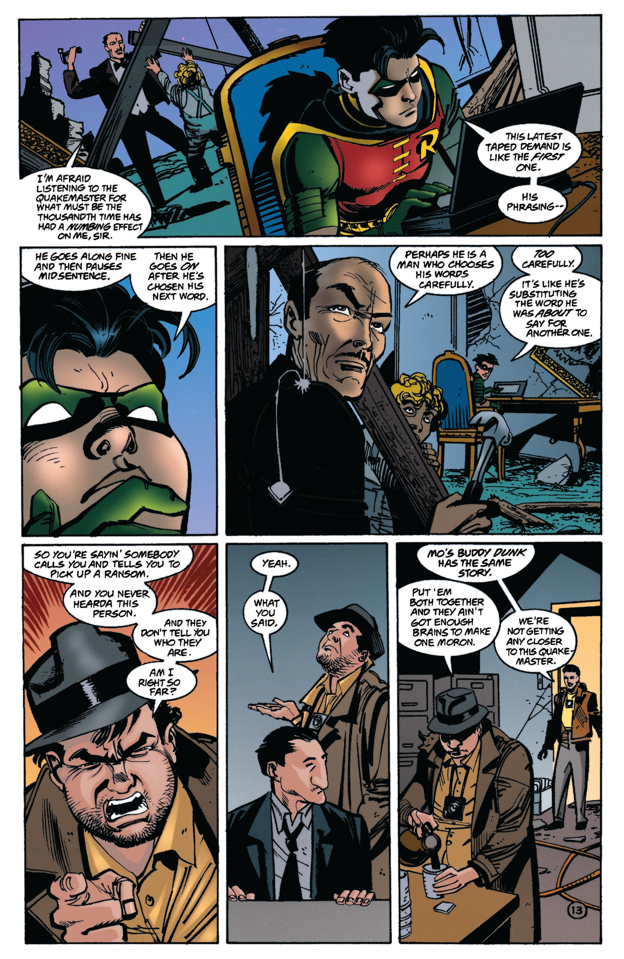 Detective Comics (1937) 721 Page 12