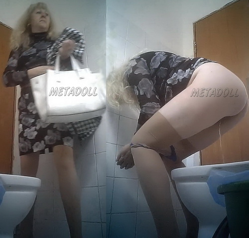 PissWC 195 (Hidden camera in the women's toilet in a Medical Facility)