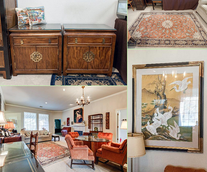 ESTATE SALE: 50% OFF Hollywood Regency Chinoiserie : Craigslist Garage Sales - Oklahoma City