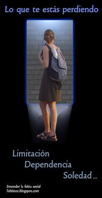 Imagen de chica con un muro en la puerta de salida