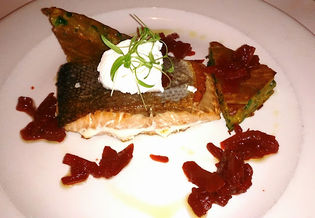 Cafe Florentine, Brighton, salmon
