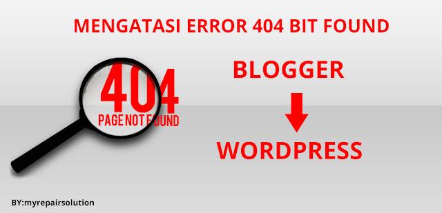 Error 404 bit found