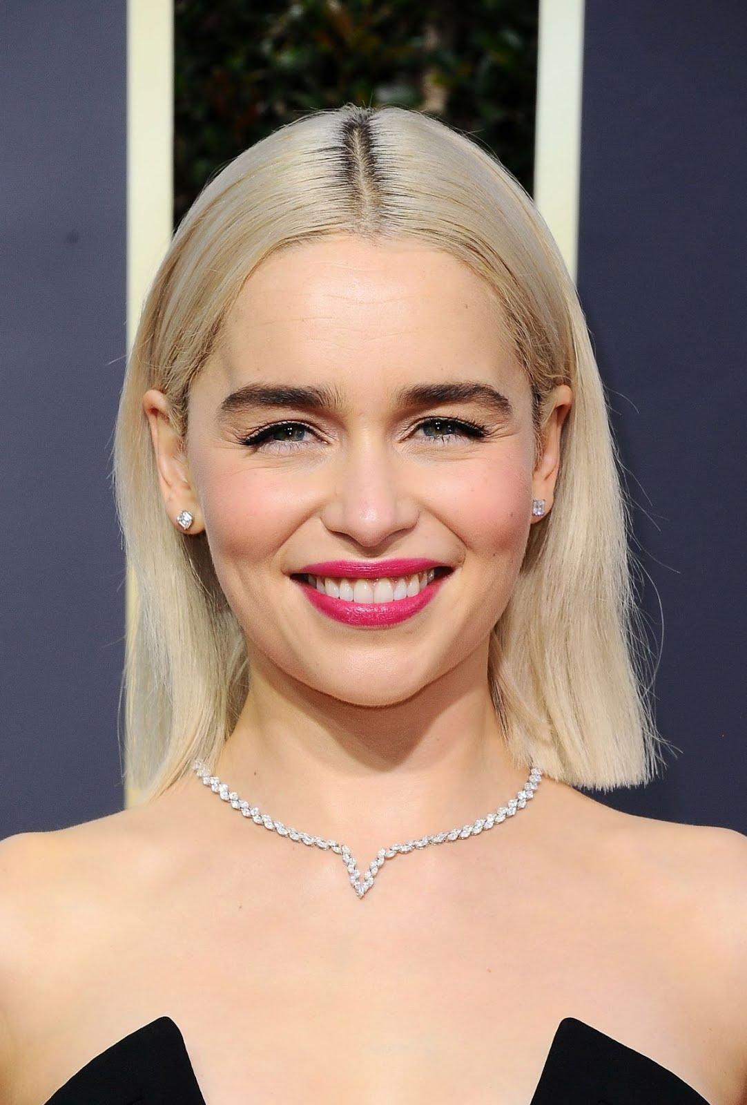 HOT Photos of Emilia Clarke At 75Th Annual Golden Globe ...