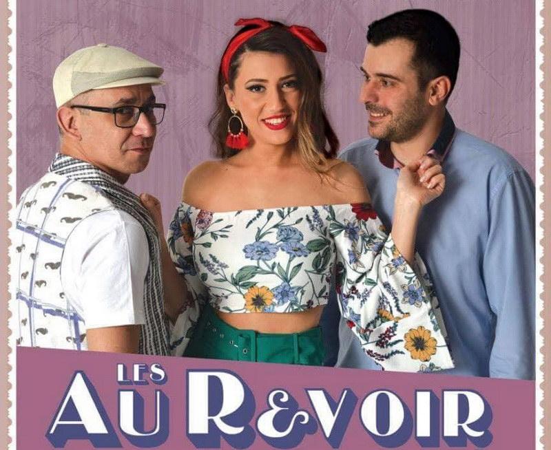 Οι Les Au Revoir live @ Thea Thalassa στη Νέα Χηλή
