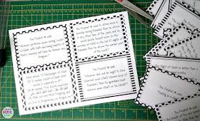 printable hadith cards related to Ramadan