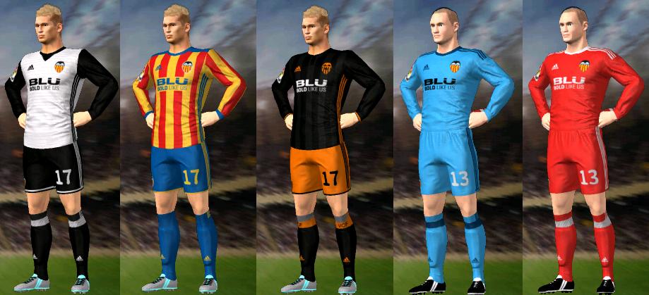 traje Valencia CF futbol