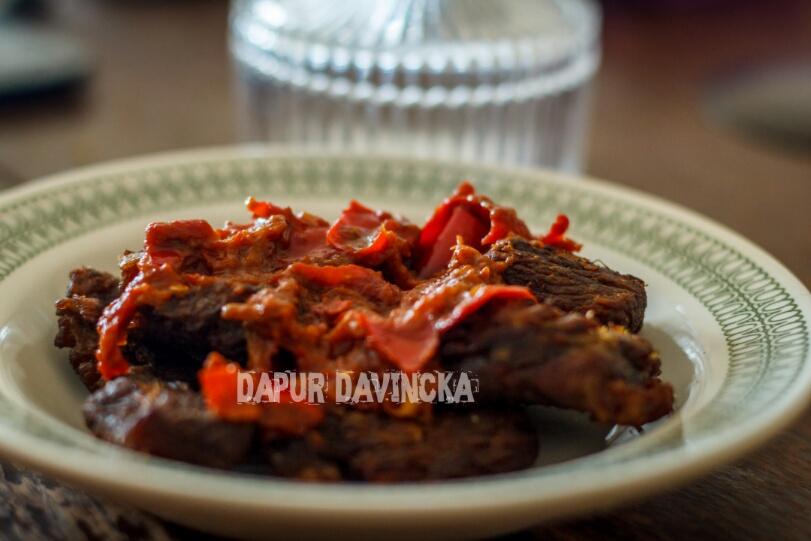 Dapur Davincka Resep Dendeng Balado