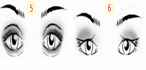 Maquiagens nos olhos