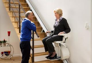 Krzesełko schodowe dla niepełnosprawnych HomeGlide