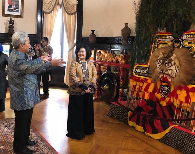 Ketua Umum Dharma Pertiwi Kunjungi KBRI di Amerika Serikat