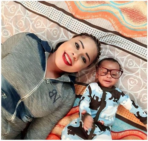 FFK's son and baby mama look cute in new photo
