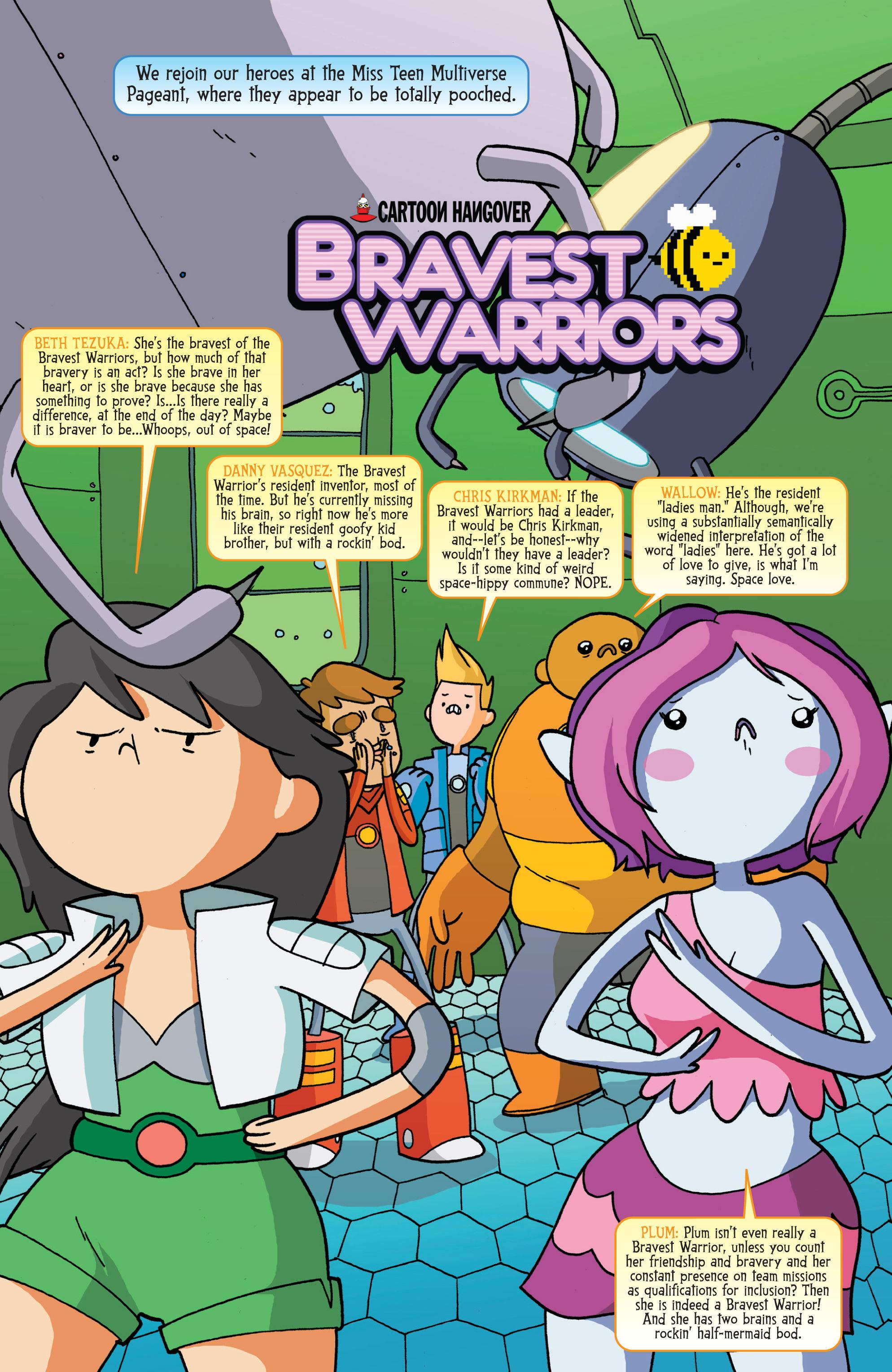 Bravest Warriors Plum Hentai