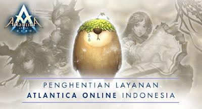 Atlantica Online di Tutup ?