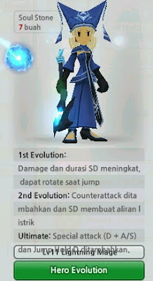 Lightning Mage Evolution Lost Saga Indonesia