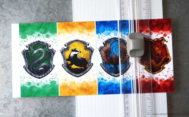 graphic regarding Harry Potter Printable Bookmark named Totally free Printable Harry Potter Hogwarts Residence Bookmarks artsy
