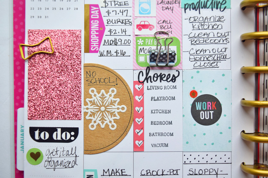planner scrapbooking crafting supplies diy plan with me