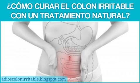¿Cómo curar el Colon Irritable con un tratamiento natural?