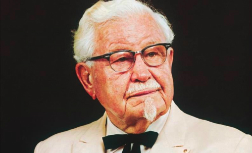 The one and only Colonel Sanders.