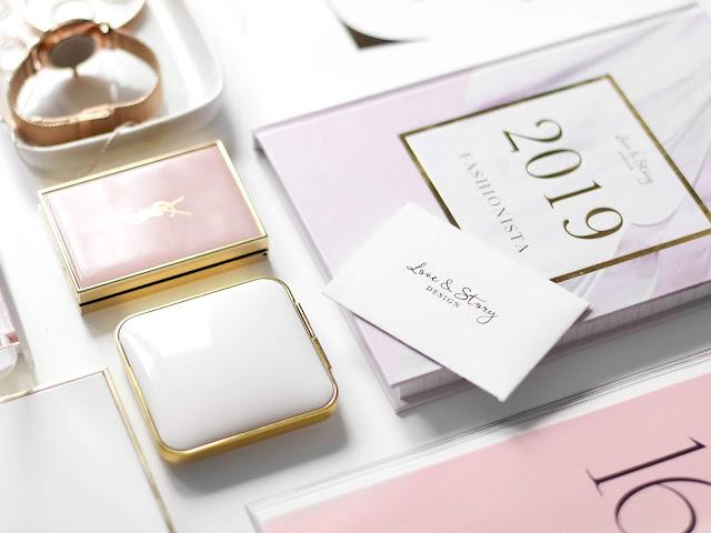 nový diář na rok 2019 love & story design fashionista