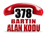 0378 Bartın telefon alan kodu