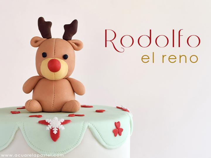 Un cuento hecho pastel:  Rodolfo el reno