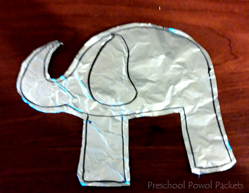 Elephant Art Project Thailand Lesson Preschool Powol Packets