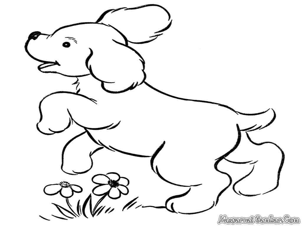 Paling Populer 60 Gambar Kartun Binatang Anjing