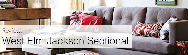 Review: West Elm Jackson Sectional Sofa