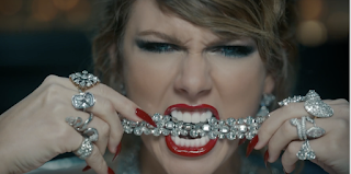 "TAYLOR SWIFT BLAZES THE SCREEN WITH PLATINUM IN HER LATEST MUSIC VIDEO ""LOOK WHAT YOU MADE ME DO"""
