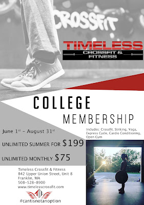SUMMER COLLEGE SPECIAL - sign up today