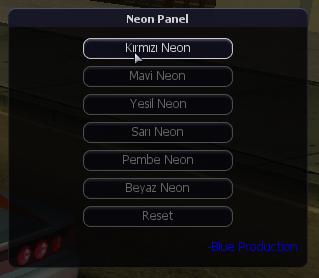 Neon Panel (F6)