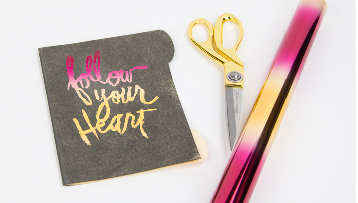 Learn how to stamp and foil with your own stamp collection from home in @createoften Make It Minc class for @heidiswapp