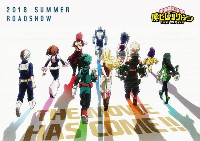 My Hero Academia, My Hero Academia the Movie, Kohei Horikoshi, Manga, Actu Manga, Jump Festa 2018,