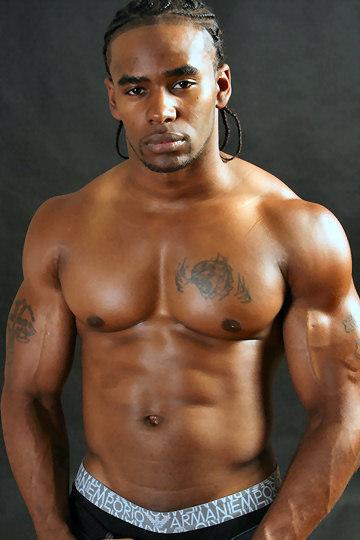 Malik black male model